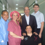 Stem Cell Institute staff with stem cell patient